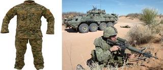 Trajes Militares - Camuflado , Camisa + Pantalon (online)