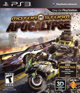 Motorstorm Apocalypse Ps3 Digital En Manvicio!!!