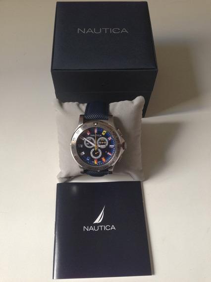 Relógio Nautica 48 Mm - Original