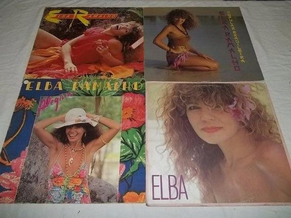 * Lp Vinil - Elba Ramalho Com 4 Discos
