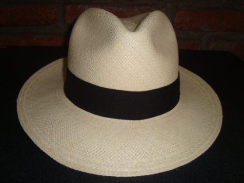 Imagen 1 de 6 de Sombrero De Paja Toquilla(panamahat) Original Montecristi