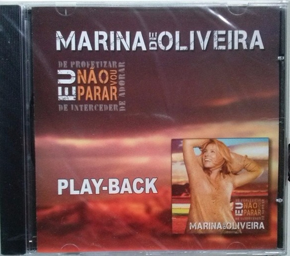 Cd Marina De Oliveira - Eu Não Vou Parar - Playback