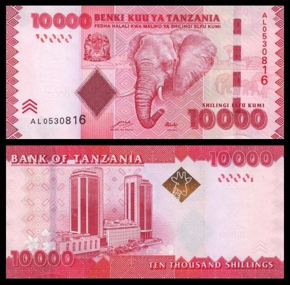 Tanzania P-44a Fe 10.000 Shilingi Nd ( 2010 ) * C O L *