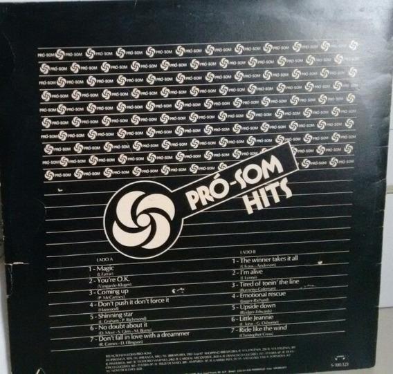 Lp Disco Pró-som Hits
