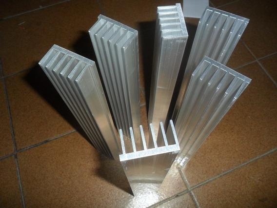 Dissipador De Aluminio 22,4 Cm X 4,5 Cm X 2,5 Cm