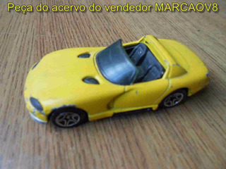 Miniatura Do Dodge Viper Amarelo Medida 1:59 Matchbox Antiga