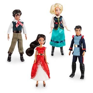 4 Mini Bonecos 13 Cm Elena Avalor Original Disney Store