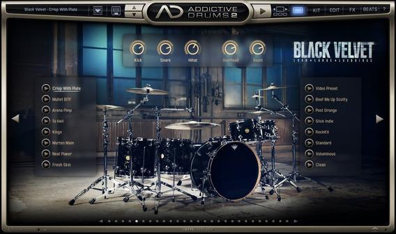 Addictive Drums 2.0.7 (win&mac)