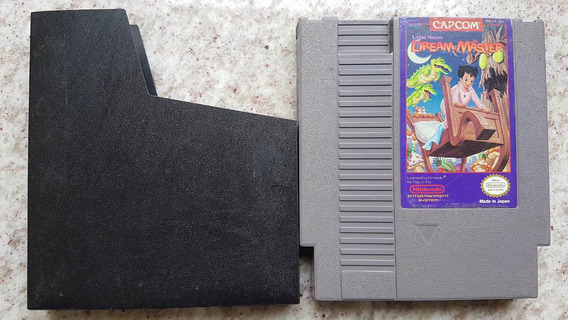 Capcom Little Nemo Dream Master Nes Original - Nintendinho