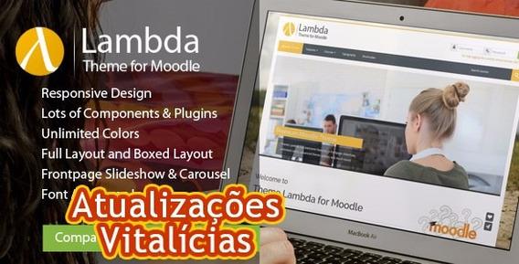 Lambda - Responsive Moodle Theme + Atualizações Vitalícias