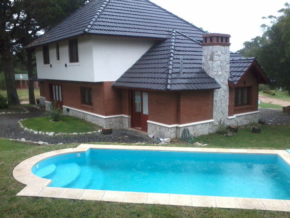 Alquilo Chalet 1er Nivel Pinamar (zona Golf) Aire/ac Piscina