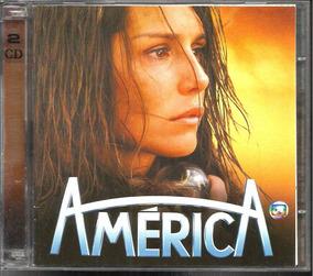 Cd Trilha Novela América Nacional E Internacional Duplo
