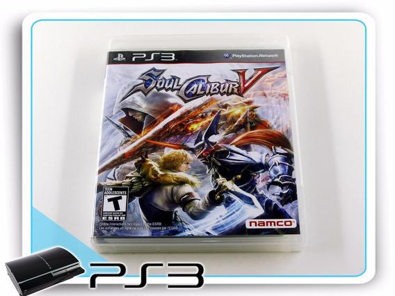Ps3 Soul Calibur 5 Original Playstation 3
