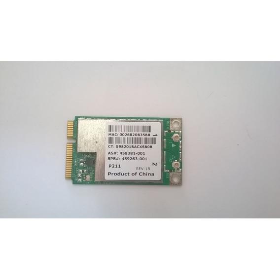 Placa De Rede Sem Fio / Wireless Hp Pavillion Dv4 Broadcom B