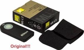 Controle Remoto Nikon Ml-l3 D40 D60 D90 D7000 D5000 D3000