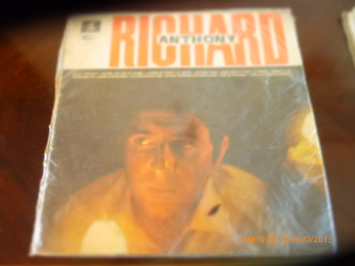 Vinilo Lp De Richard  Anthony .-- Le Monde   (u1318