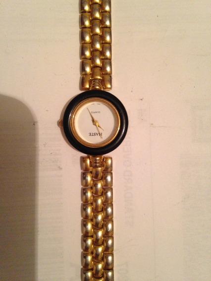 Reloj Haste Dama Dorado