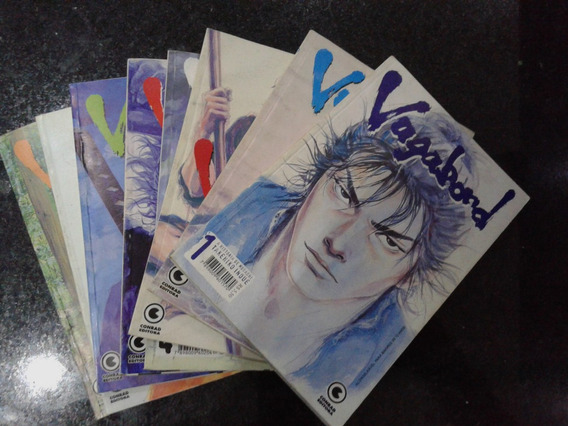 Vagabond - Editora Conrad - Ed 01 A 08