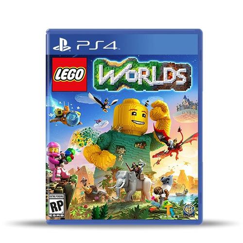 Lego Worlds (nuevo) Ps4 Físico, Macrotec