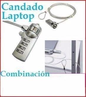 Imagen 1 de 1 de Candado Combinación Laptop Seguridad Anti Robo Portatiles Pc