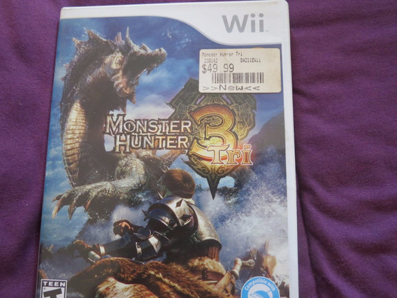Monster Hunter 3 Tri Para Nintendo Wii