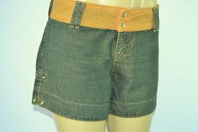 Shorts Jeans Feminino M. Office Tamanho 40 Versátil