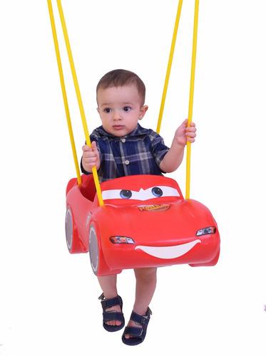 Balanço Infantil Mcqueen Carros Disney Xalingo