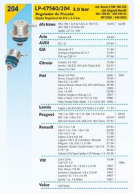 Regulador De Pressão Silverado Omega Suprema Cd Pick-up 4.1