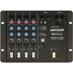 Mesa De Som Mixer 4 Canais Ciclotron Mxm4sa