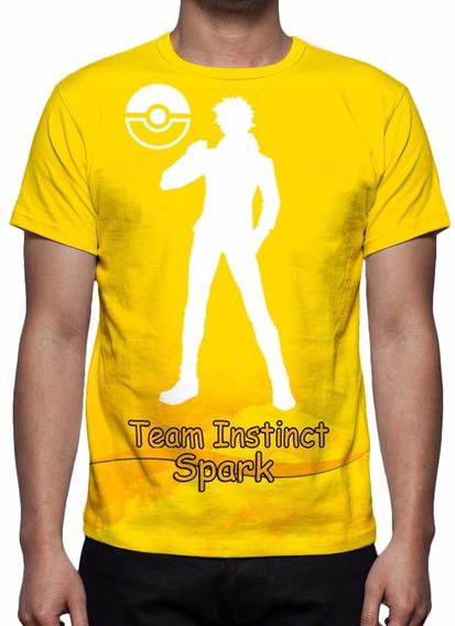 Camisa, Camiseta Pokémon Go - Time Instinct Amarelo (spark)