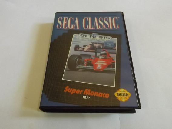 Super Monaco Gp1 Original Completo Americano Para Mega Drive