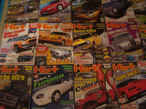 Lote De Revistas Novas Hot Car; 14 Ed
