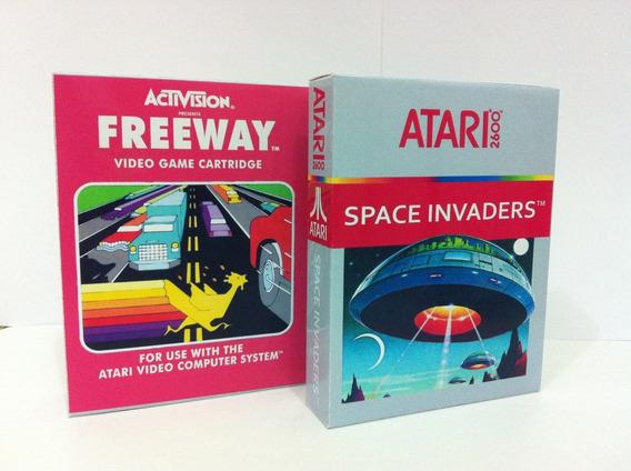 Mini Caixas Para Jogos De Atari 2600