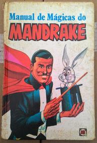 Manual De Magicas Do Mandrake - Ed.rge / Gibi, Quad, Rev