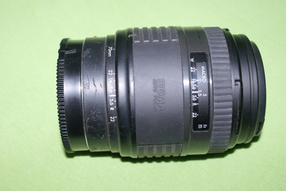 Lente Sigma 70-210mm