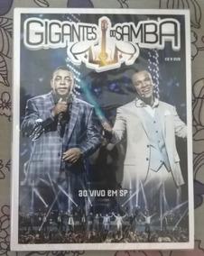 Gigantes Do Samba Ao Vivo Em Sp - Kit Dvd + Cd Lacrado