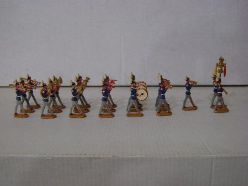 Imagen 1 de 6 de Nico Increible Banda Militar 21 Soldados  De Plomo (pmv 45)