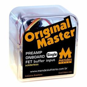 Pre Amplificador Contrabaixo Om Single Com Push Pull Bypass