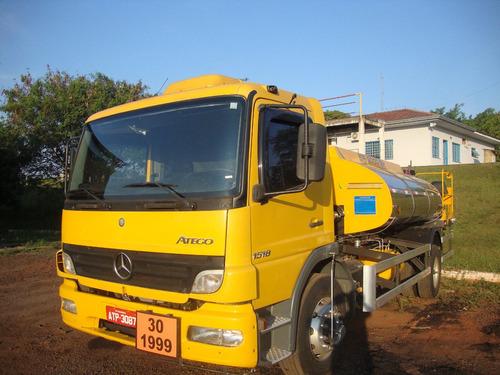 Imagem 1 de 4 de Locação Caminhão Espargidor Mb 1418