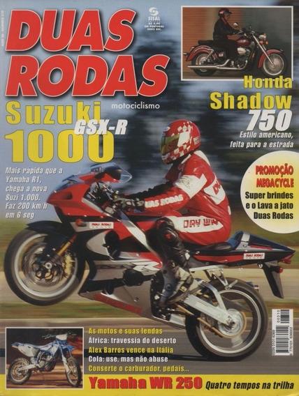 Duas Rodas N°310 Suzuki Gsx-r 1000 Honda Shadow 750 Wr 250