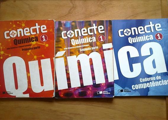 Livros: Conecte Química 01 - Edição 2011 (box Com 3 Volumes)
