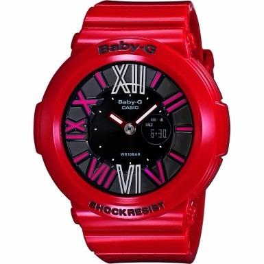 Relógio Casio Baby-g Bga-160 - Vermelho