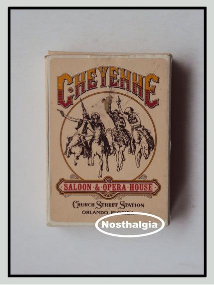 Baralho Cheyenne - Usa - Anos 80 - F(1111)