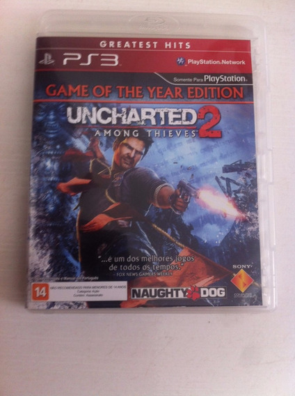 Uncharted 2 - Ps3 - Midia Fisica