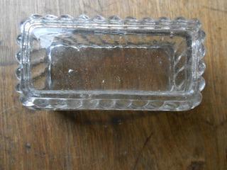 Urna De Vidrio Moldeado Apto Para Varios Usos 10 X4 X4.5 Cm