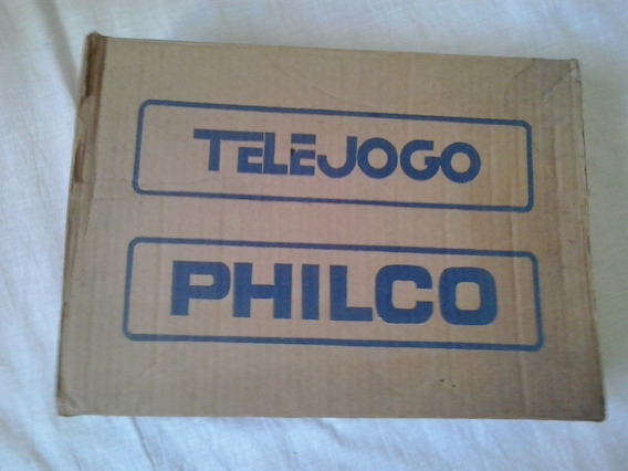 Philco Telejogo 2 Video Game Game Antigo Tele Jogo Philco