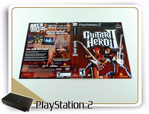 Ps2 Encarte Guitar Hero 2 Original Playstation 2