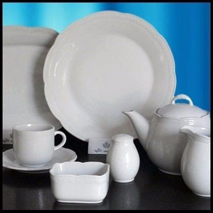 Fuente Servicio Oval Tsuji1800- Porcelana Ss