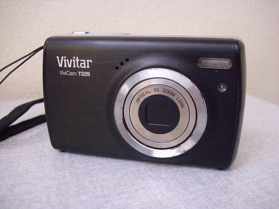 Câmera Digital Vivitar T329 12mp Preta (#7v5)