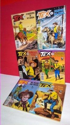 Revistas Tex Formatinhos Ed. Globo- 308-309-310-311-332-333!